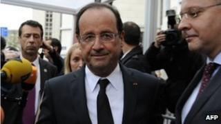 President Hollande is under pressure to improve the French economy