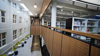 Stafford College library