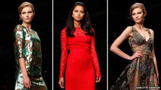 Fashion models shot by Charlotte Simpson