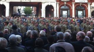 Royal Anglian Regiment, Ipswich