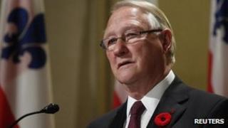 Gerald Tremblay resigns. 5 Nov 2012