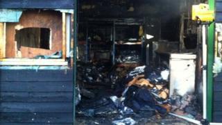 Gibbins fire, Woodbridge