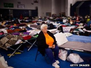 New Jersey residents in emergency shelter