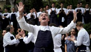 Ferran Adria, head chef at El Bulli