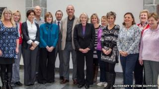 Volunteers for the Guernsey Victim Support and Witness Service