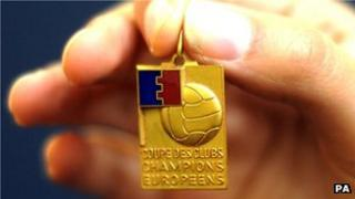 1968 European Cup winner's medal