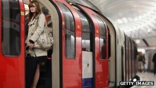 A Tube train
