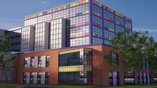 Artist's impression of Southampton children's hospital
