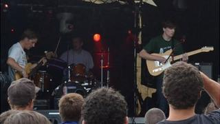 Guernsey band Twelve Tribe Mansion performing at the 2012 Vale Earth Fair