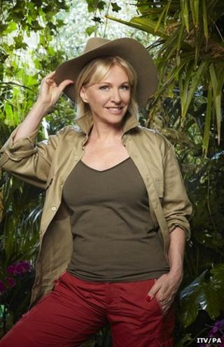 Nadine Dorries prepares for I'm a Celebrity