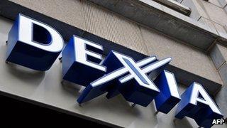 Belgian French bank Dexia