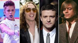 Justin Bieber, Justin Hawkins, Justin Timberlake, Justin Hayward