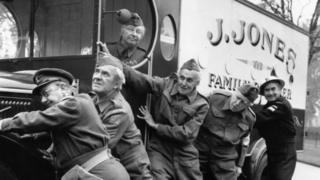 L/Cpl Jones's butcher's van in Dad's Army