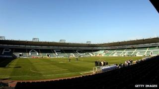 Home Park stadium, Plymouth