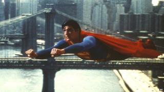 Superman (played by Christopher Reeve)