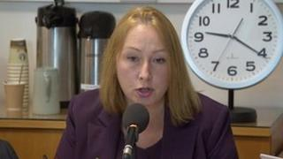 Nicky Williams, taking part in a PCC debate