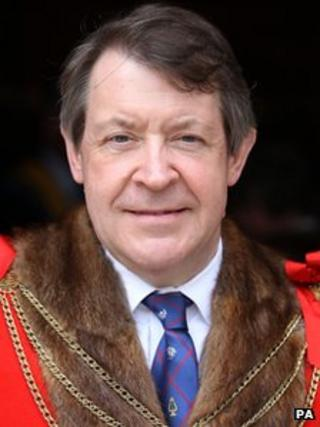 The New Lord Mayor of the City of London Roger Gifford
