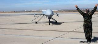 File image of Predator MQ-1 drone