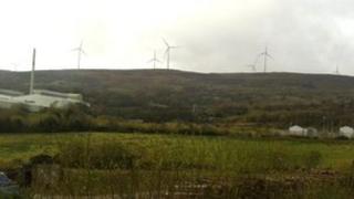 Derrylin windfarm