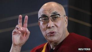 Tibetan spiritual leader, the Dalai Lama