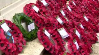 Wreaths in Belfast