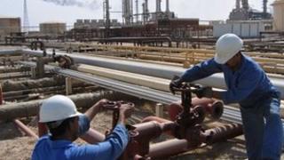 Oil pipelines in Iraq