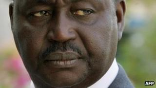 President of the Central African Republic Francois Bozize (file image from 2008)