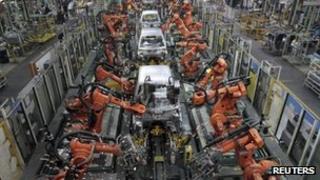 A Ford plant in Chengalpattu near Chennai in India