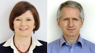 Helen Boaden and Steve Mitchell