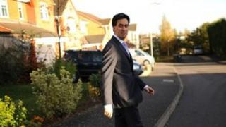 Ed Miliband in Corby