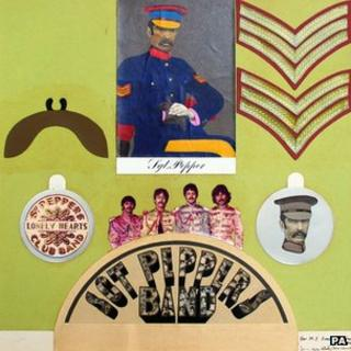 Sgt Pepper collage by Sir Peter Blake and Jann Haworth
