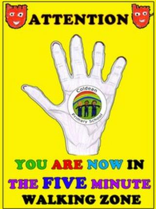 Coldean Primary School poster