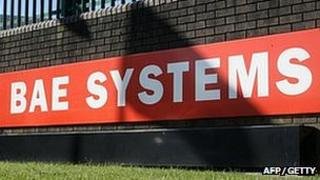 BAE Systems sign at Brough