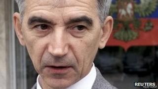 Russian physicist Valentin Danilov, convicted of espionage in 2004