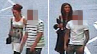 CCTV released by Greater Manchester Police
