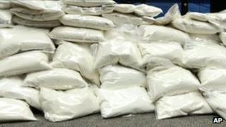 Bags of ketamine