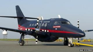 The Jetstream unmanned aircraft