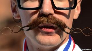Man with big moustache