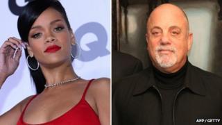 Rihanna and Billy Joel