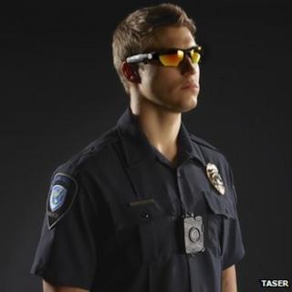 Taser Axon Flex-On Officer Video System