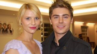 Zac Efron and Claire Danes