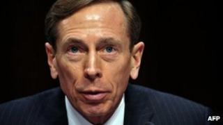 David Petraeus, testifies before the US Senate Intelligence Committee on 31 January 2012