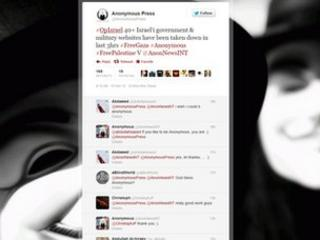 Anonymous Press twitter page