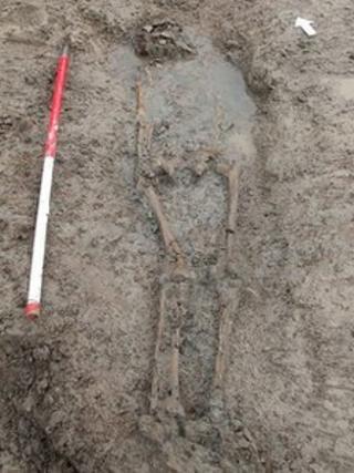 Roman human remains discovered at Banwell