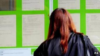 job seeker looking for work