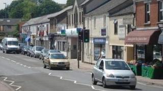 Lydney town centre
