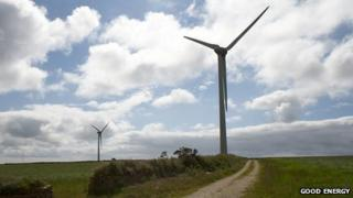 Delabole wind farm