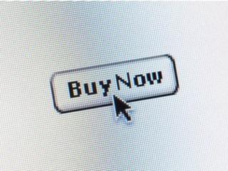 Computer screen shot of a mouse cursor pointing to a 'Buy Now' button