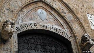 The Monte dei Paschi di Sienna
