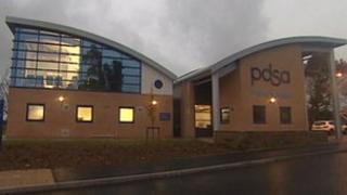 PDSA hospital in Devon